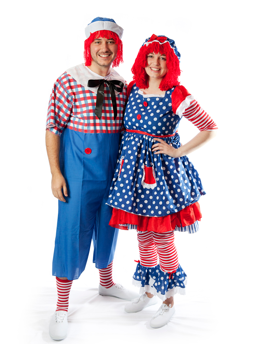 Raggedy Anne And Andy Couple Costume Creative Costumes