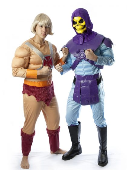 He-man and skeletor costume