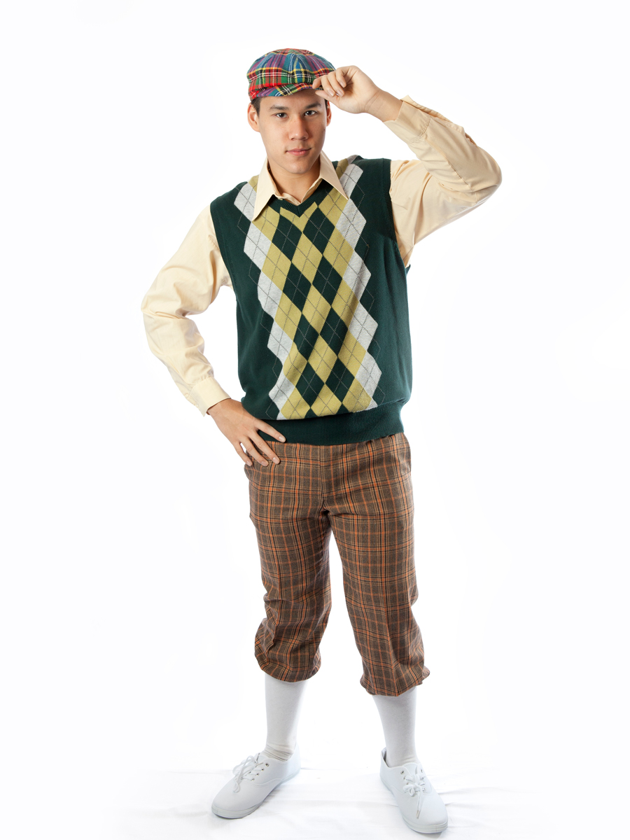 Old School Golfer Costume -Creative Costumes-8528