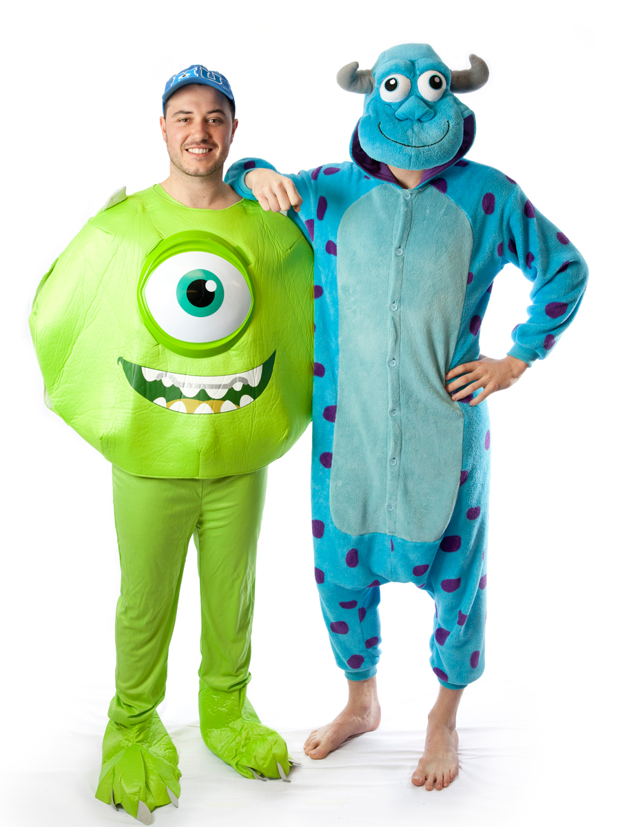 mike and sulley couple costume -creative costumes
