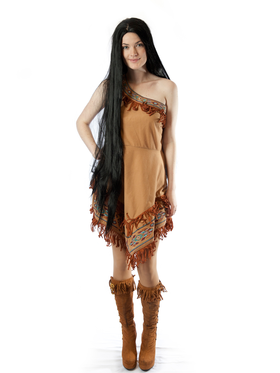 pocahantus costume  sc 1 st  Creative Costumes & Pocahontas Indian girl Costume -Creative Costumes