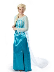 Frozen princess costume