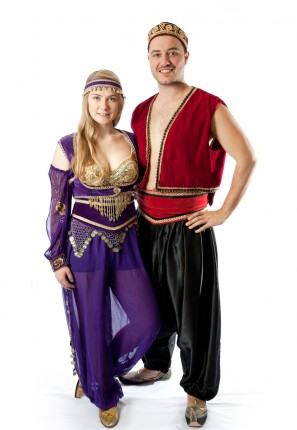 Arabian nights costume