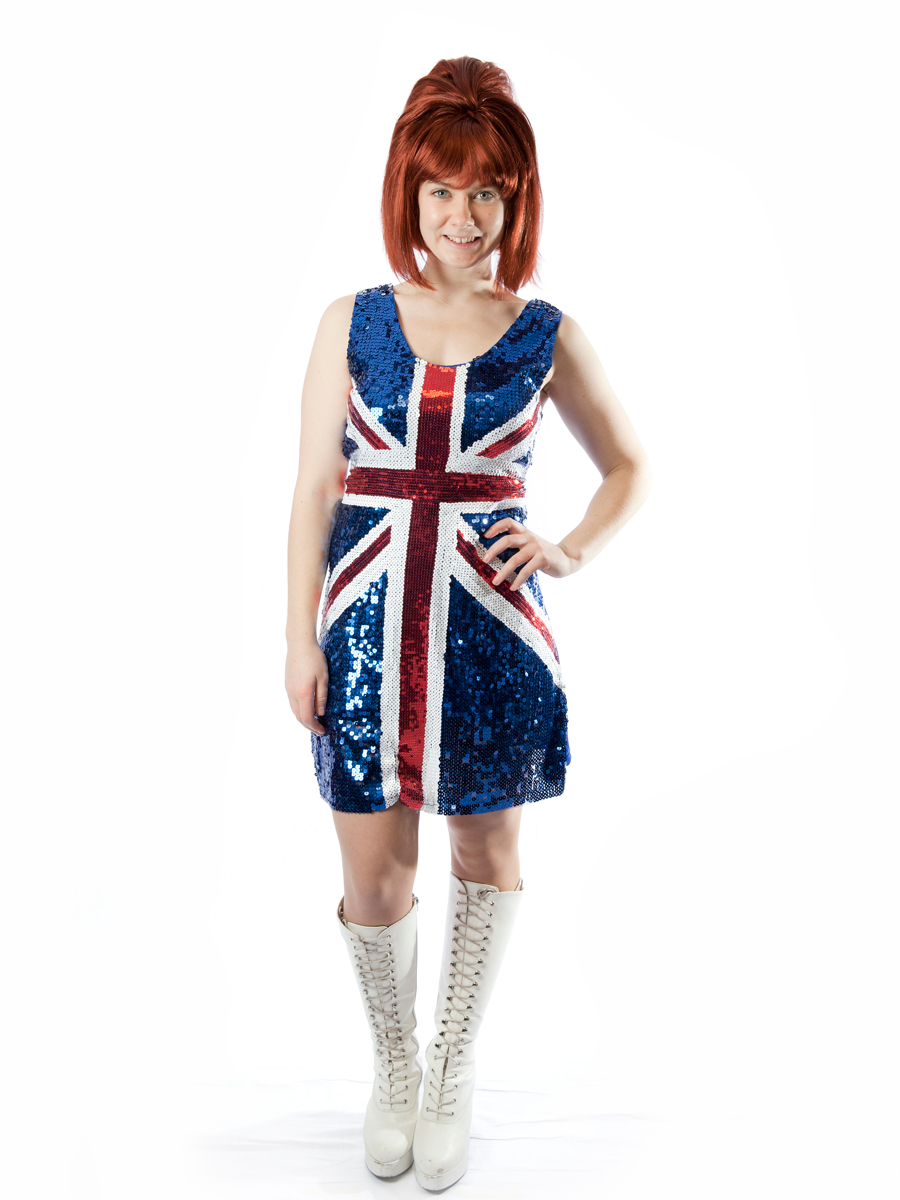 Ginger Spice Girls costume -Creative Costumes