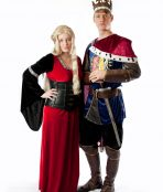 Cersei and Geoffrey costumes