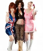 Ginger, scary baby spice girls