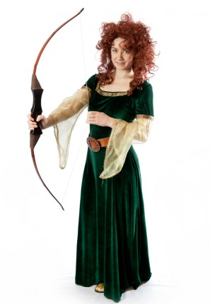 Princess Merida Brave Costume