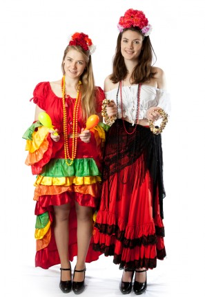 mexican rio carnivale costumes