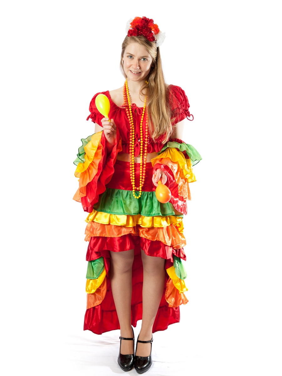 Rio Carnival Olympic or Mexican Costume -Creative Costumes