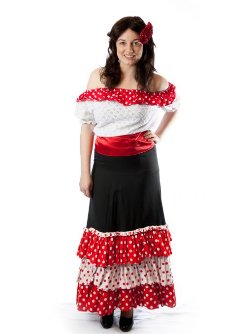 spanish mexican senorita costume