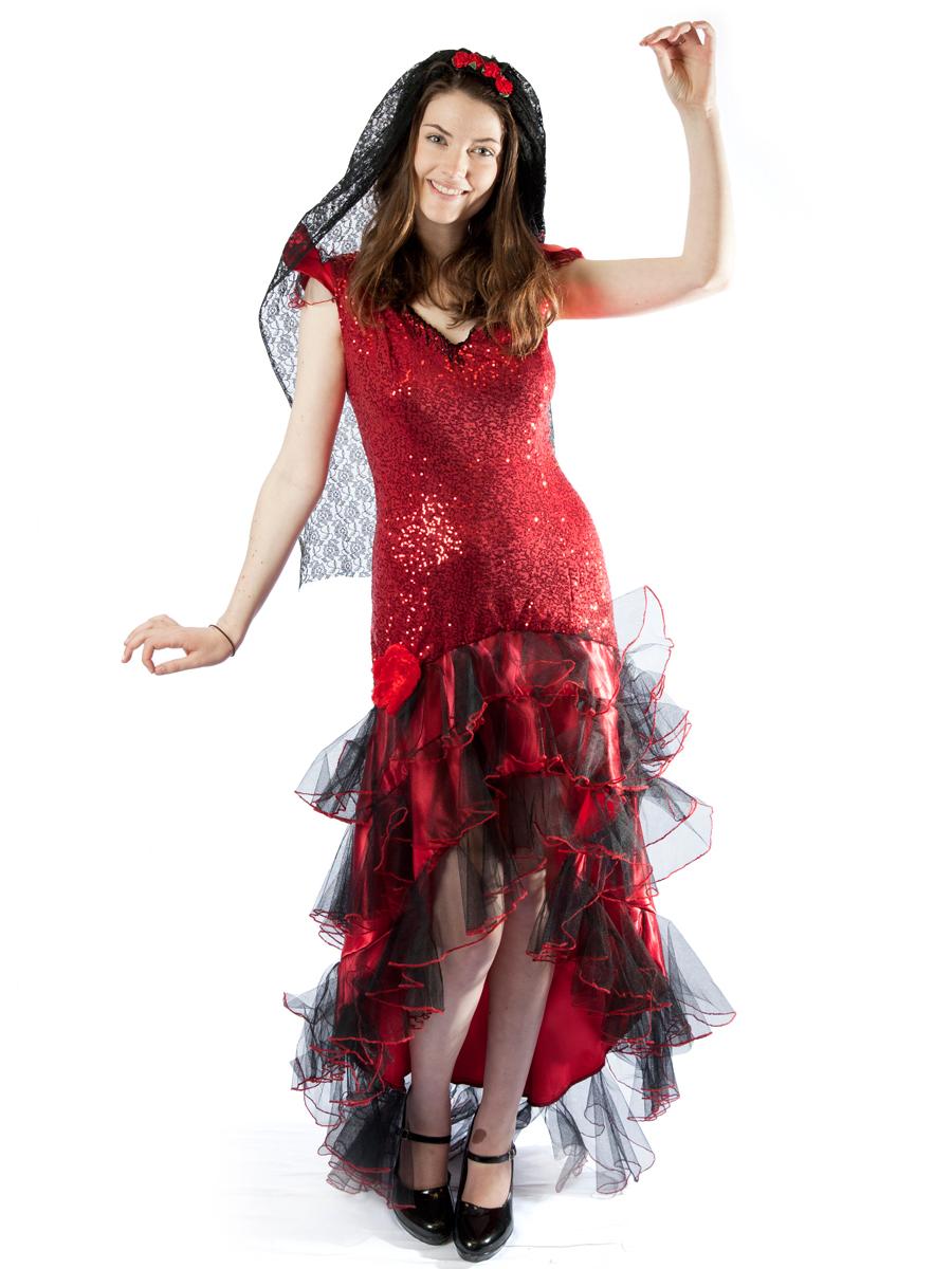 192b0f0c1cd8 Sexy Spanish Flamenco Costume -Creative Costumes