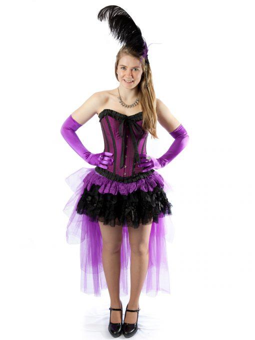 Burlesque female costume