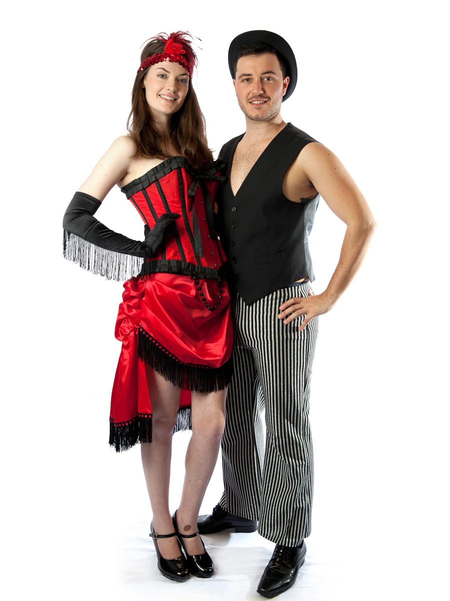 Burlesque Couple Costumes -Creative Costumes