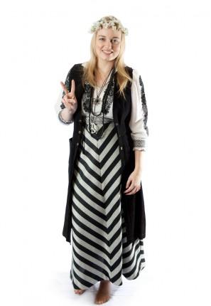 hippie woodstock girl costume hippy festival