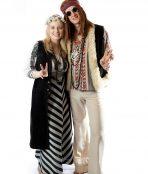 Woodstock Hippie Couple Costume