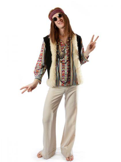 Woodstock hippie dude costume hippy peace love festival