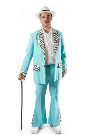Funky disco pimp costume