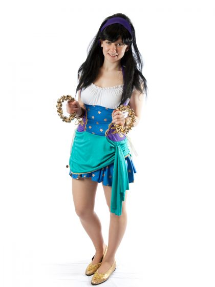 Disney Esmerelda Gypsy Costume