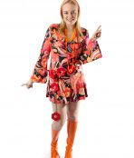 Groovy 60's flower power costume