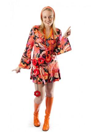 Groovy 60's flower power costume
