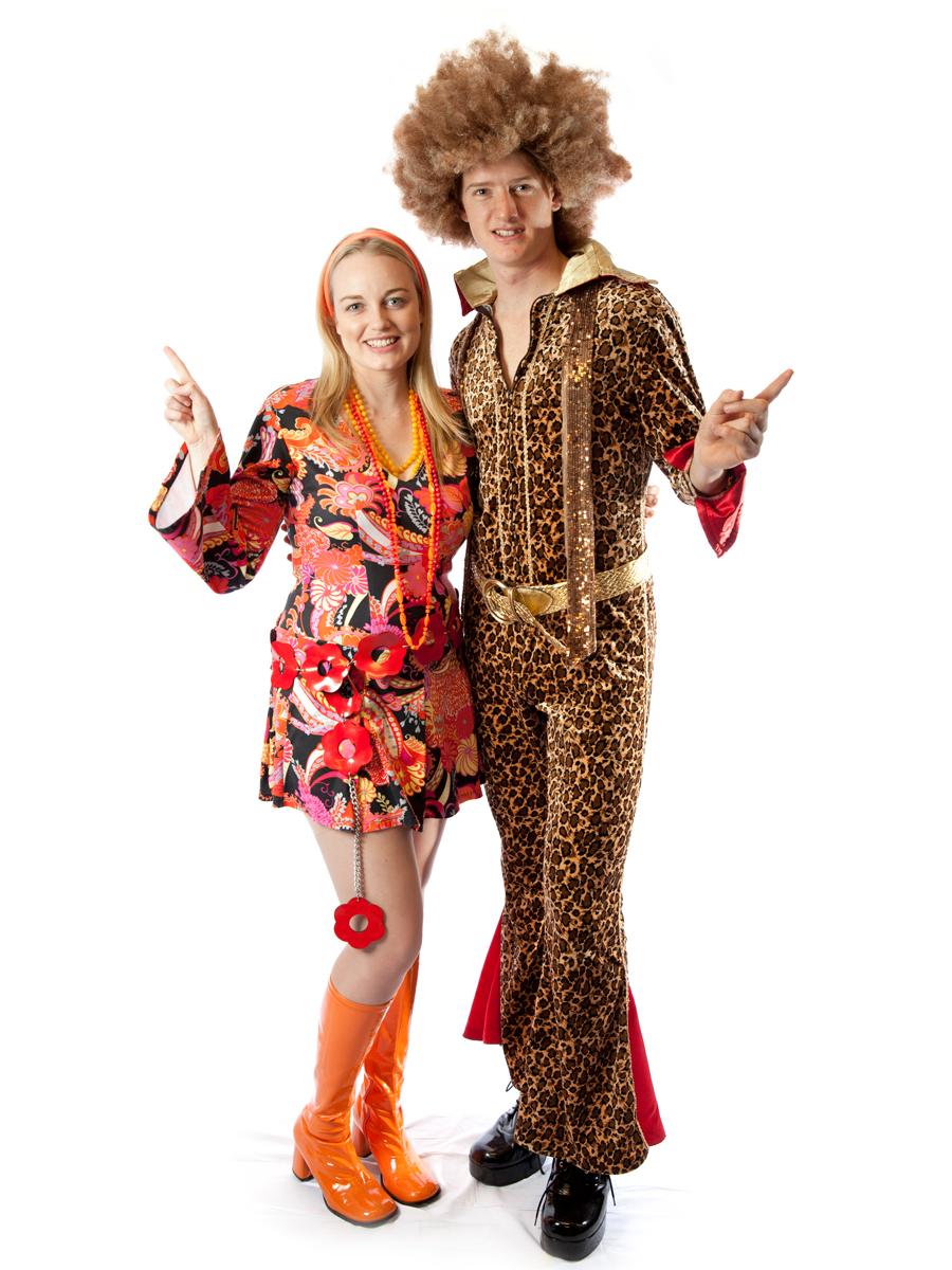 1970s disco couple