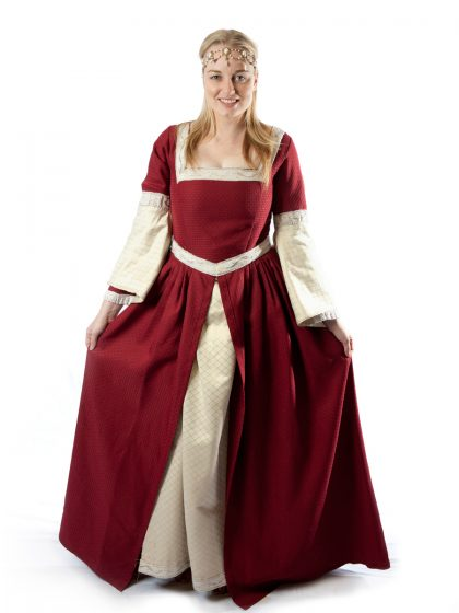 queen pricess elizabethan tudor medieval costume