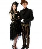 steampunk victorian historical moulin rouge showgirl burlesque english saloon