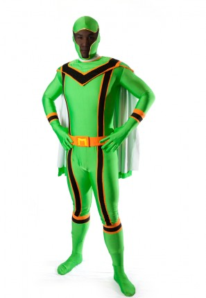 green powerranger costume ninja samurai