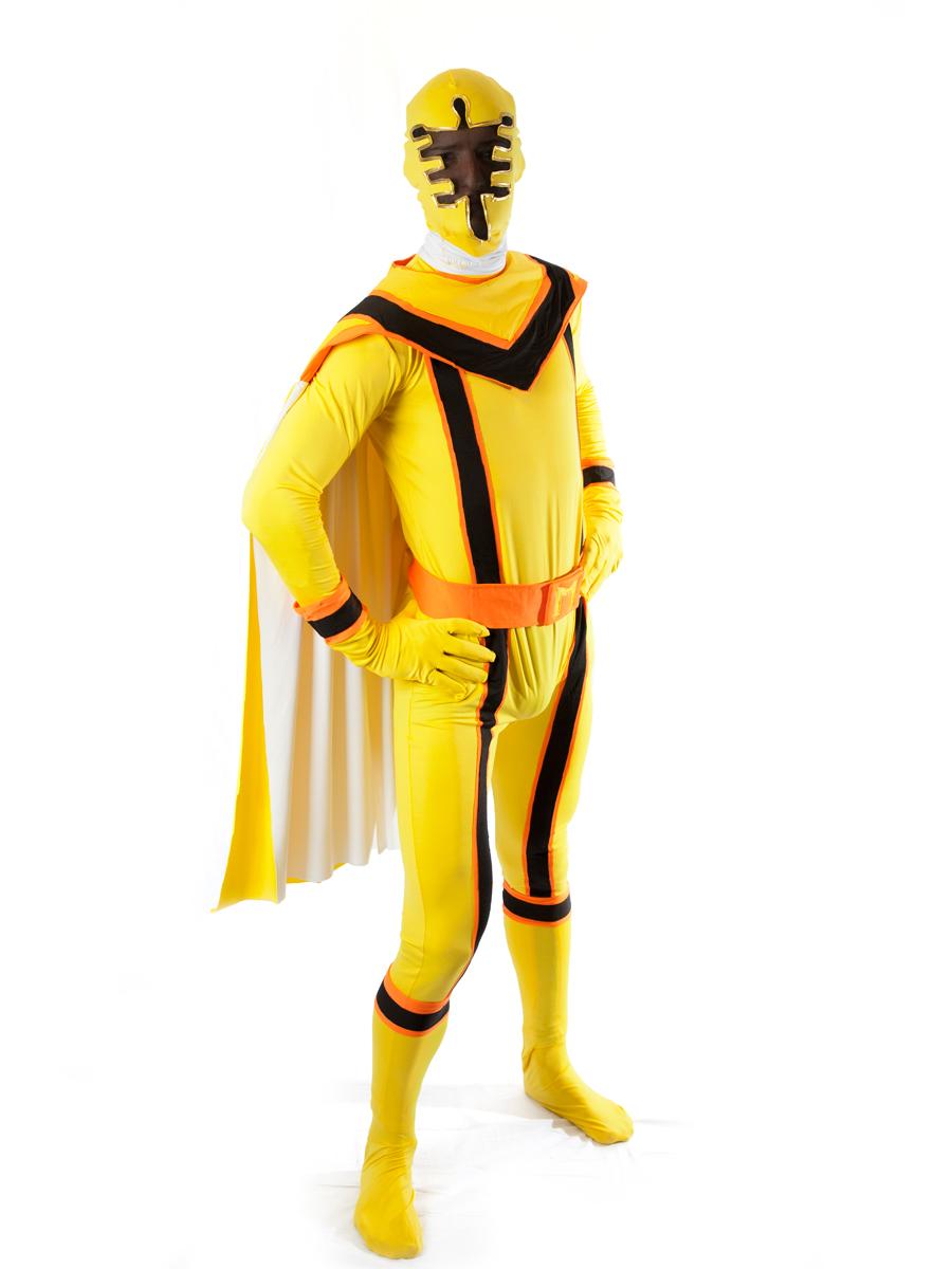 powerranger ninja samurai comic cartoon gold  sc 1 st  Creative Costumes & Yellow Power Ranger Costume -Creative Costumes