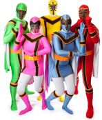 Power Rangers costumes.