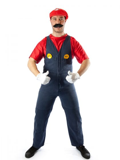 Mario brother costume