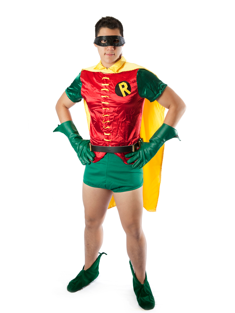robin original series male costumecreative costumes. Black Bedroom Furniture Sets. Home Design Ideas