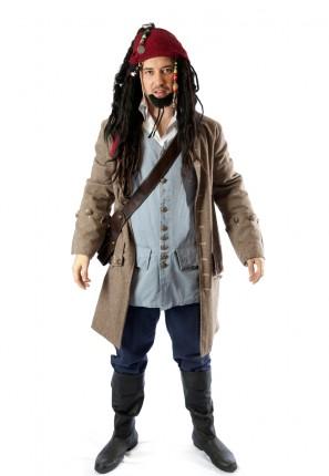 Johnny depp pirate costume