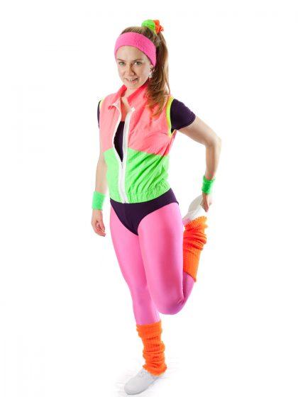 80's sport costume
