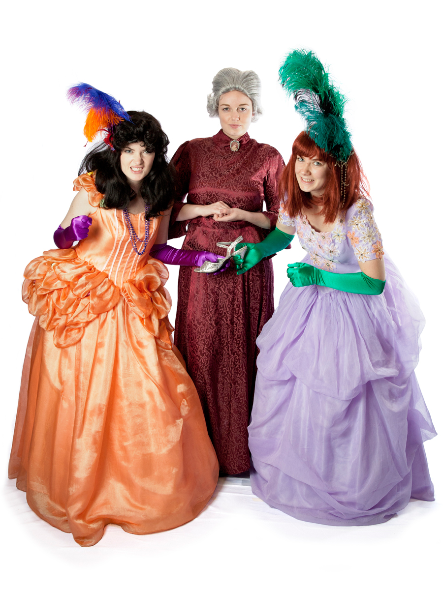Lady Tremaine anastasia and Drizella  sc 1 st  Creative Costumes & Wicked step mother and evil step sister costumes from Cinderella to ...