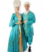 French couple costume