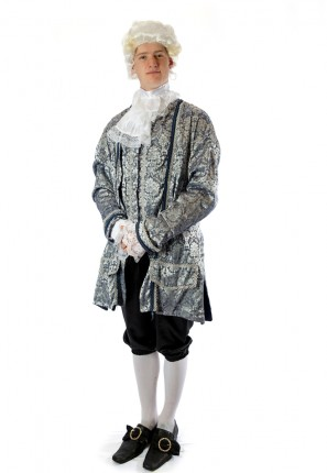 King Louis courtier costume