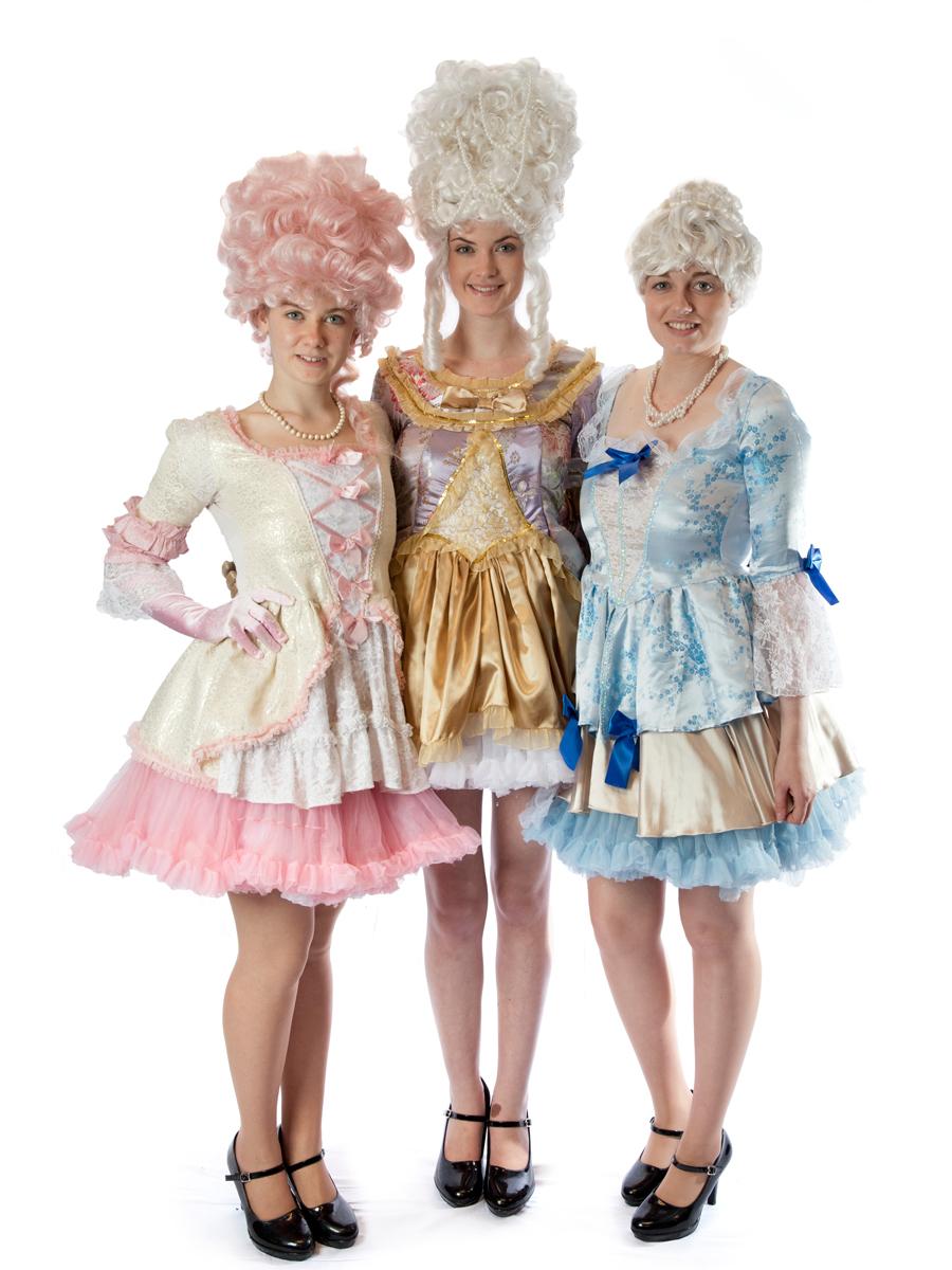 Marie Antoinette Girls 18th Century Girls Group