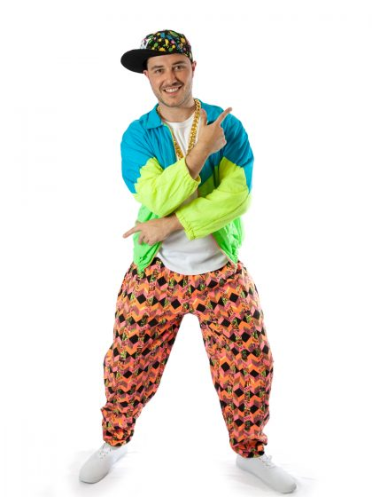 90's break dancer costume