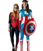 Female super hero costumes