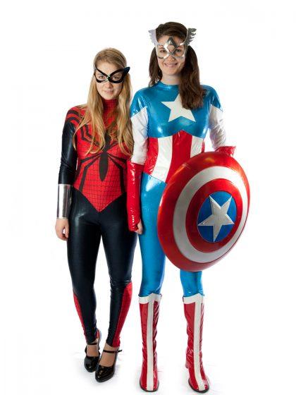 Female super hero costumes