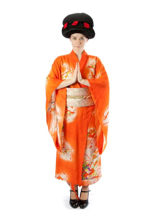 Japanese female costume
