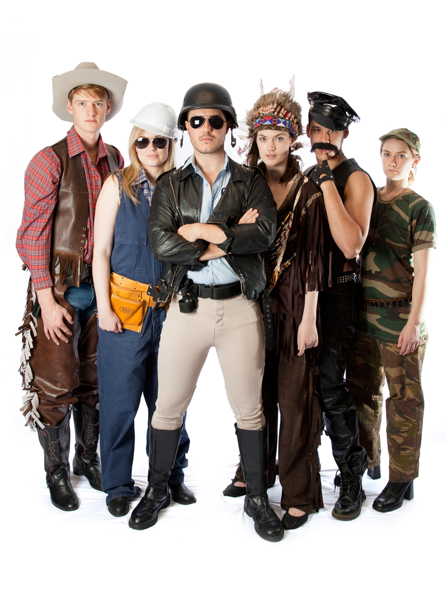 Costume village people