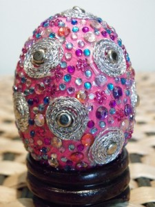 Bedazzled easter egg