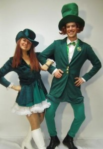 Irsih couple costume