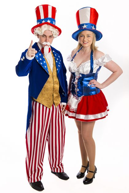 Uncle Sam and Miss America Costumes