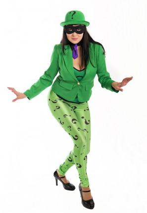 The Riddler female costume