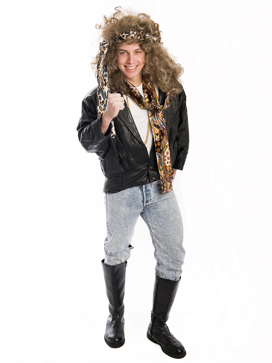 bon jovi 80s rocker costume -creative costumes