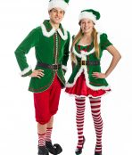 North Pole Santa's Helper Costume