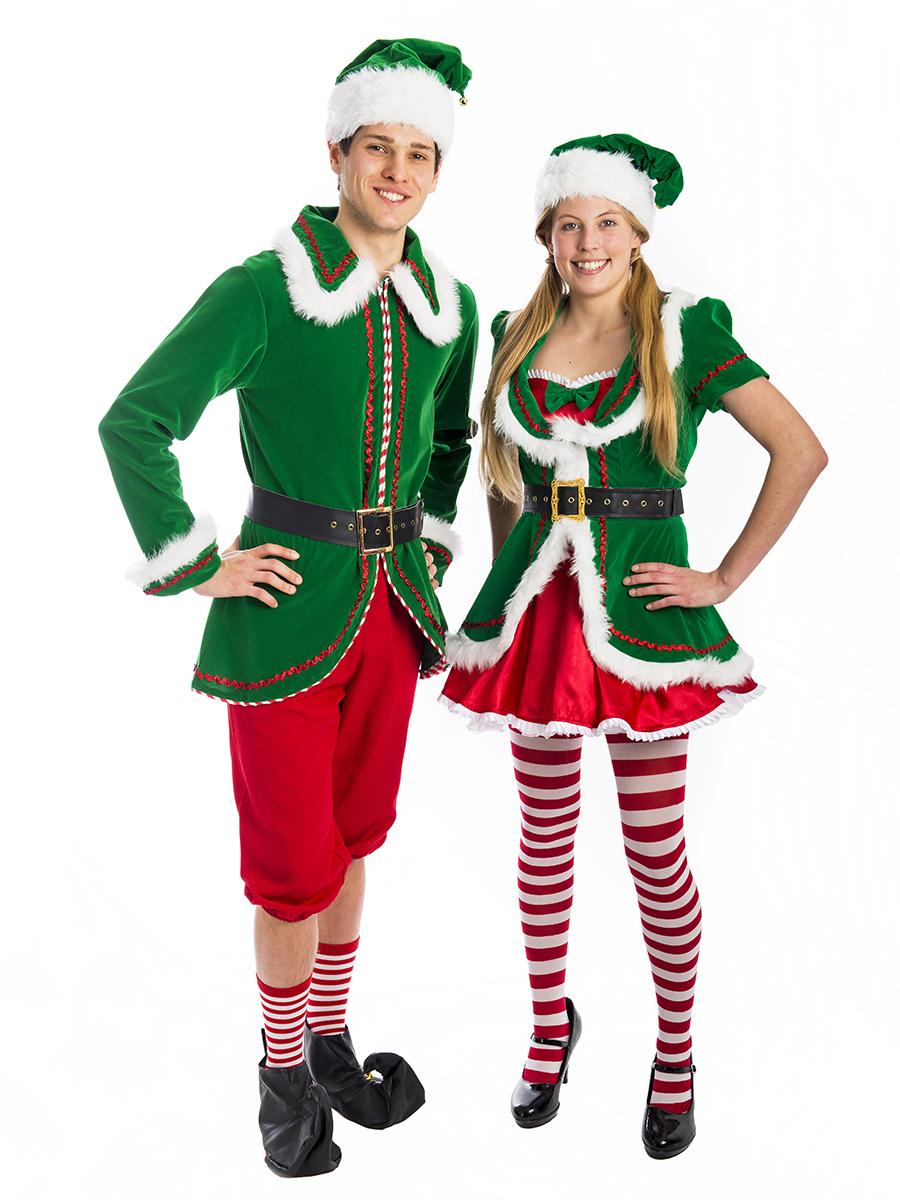 north pole santas helper costume